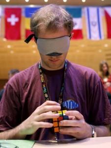 Working Blindfolded